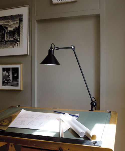 Bernard-Albin Gras N°201 Architect Clamp Lamp Open Room