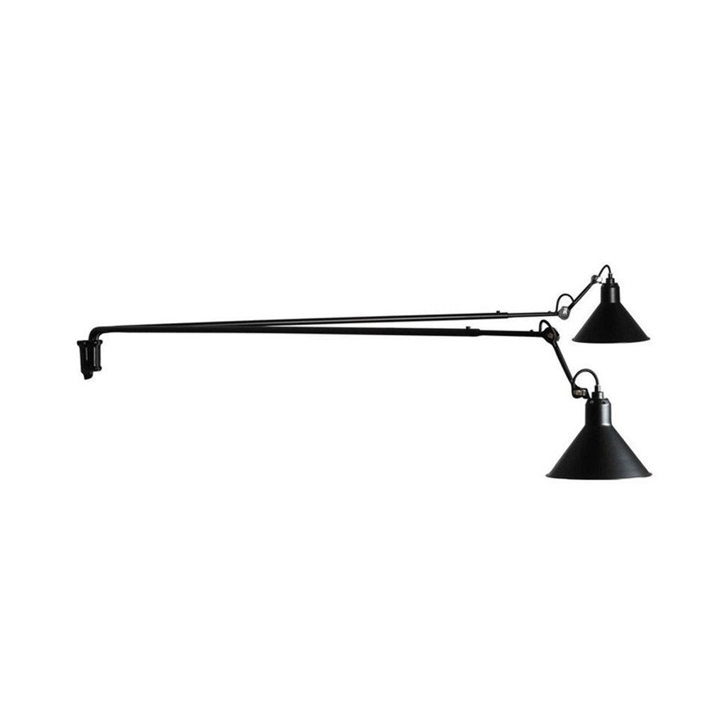 N°213 Large Double BL Wall Lamp by La Lampe Gras