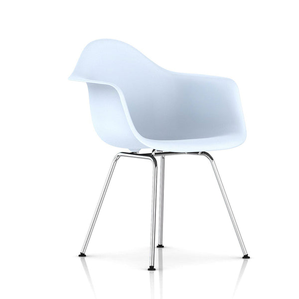 Eames® Moulded Plastic 4-leg Armchair - Herman Miller - Open Room