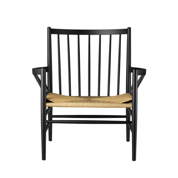 Open Room FDB Møbler J82 Lounge Chair Black/Natural