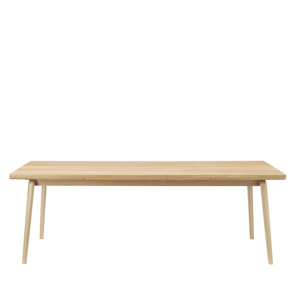 FDB Møbler Åstrup Oak Extendable Dining Table by Isabel Ahm