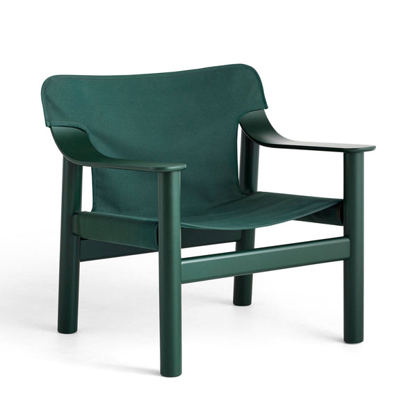 HAY Bernard Chair Green Canvas Open Room