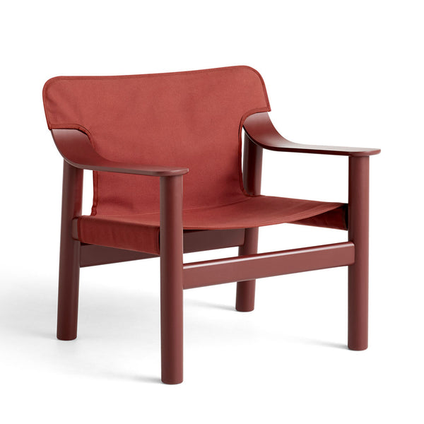 HAY Bernard Chair Red Canvas Open Room