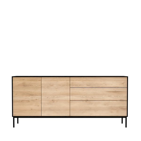 Ethnicraft Blackbird Oak Sideboard 2 Doors 3 Drawers