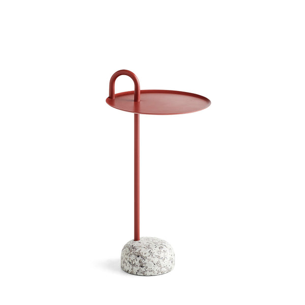HAY Bowler Table Tile Red Open Room