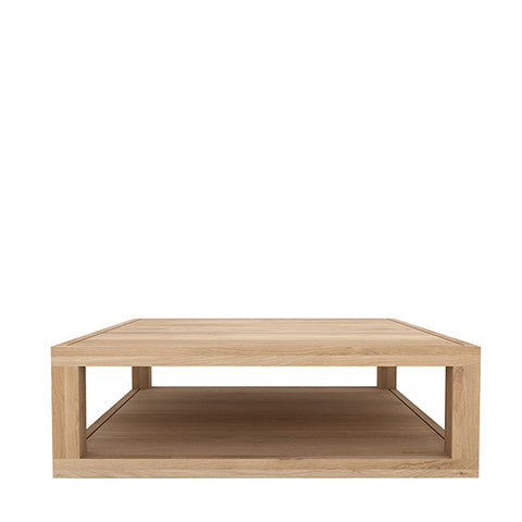 Ethnicraft Duplex Oak Coffee Table