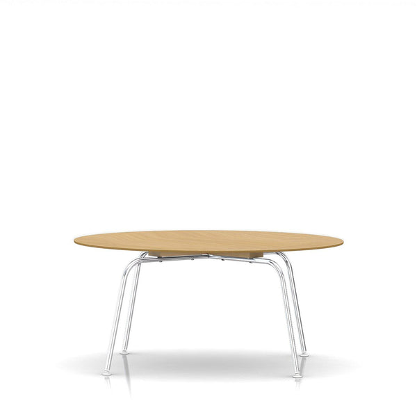 Eames® Moulded Plywood Coffee Table Metal Legs - Herman Miller - Open Room