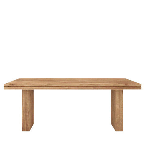 Ethnicraft Oak Double Dining Table - Open Room
