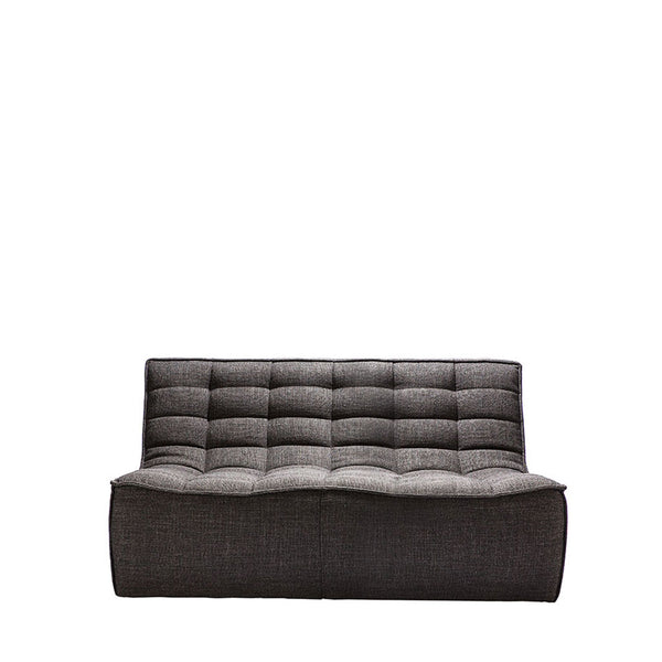 Ethnicraft N701 Sofa 2 Seater - Dark Grey Open Room