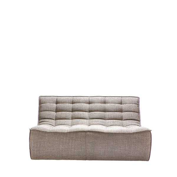 Ethnicraft N701 Sofa 2 Seater - Dark Beige