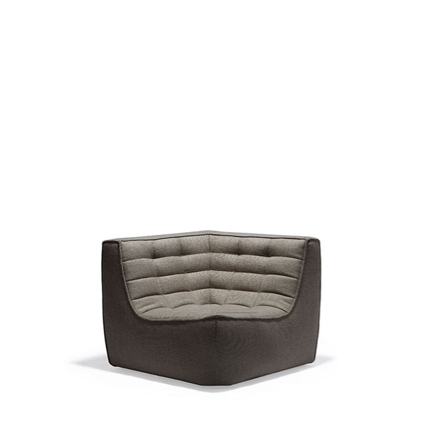 Ethnicraft N701 Sofa Corner - Dark Grey Open Room