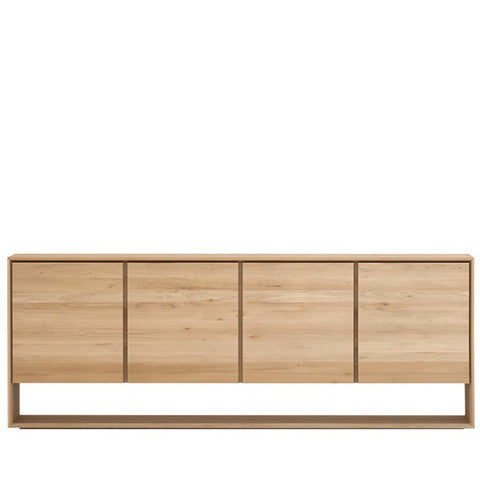 Ethnicraft Nordic Oak Sideboard 4 doors