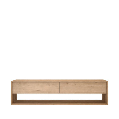 Ethnicraft Oak Nordic TV Unit - Open Room