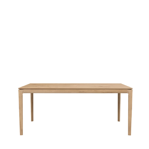Ethnicraft Oak Bok Extendable Dining Table Open Room