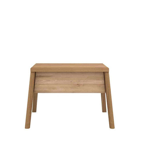 Ethnicraft Solid Oak Air Bedside Table Open Room
