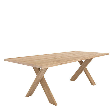 Ethnicraft Oak Pettersson Dining Table - Open Room