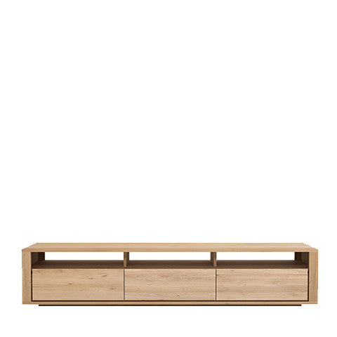 Ethnicraft Shadow Oak TV Unit - Open Room