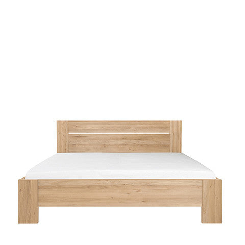 Ethnicraft Oak Azur Bed - Open Room
