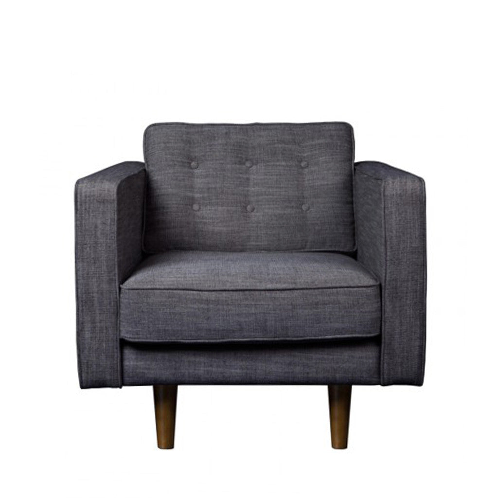 Ethnicraft N101 - One Seater - Ash Grey