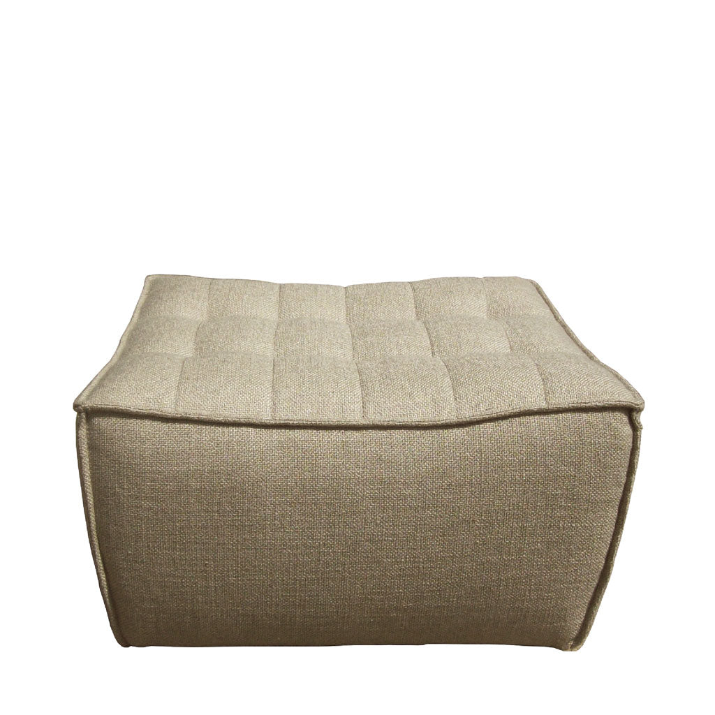 Ethnicraft N701 Ottoman footstool Open Room