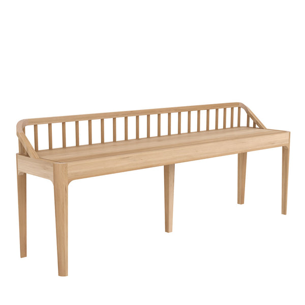 Ethnicraft Spindle bench oak open room