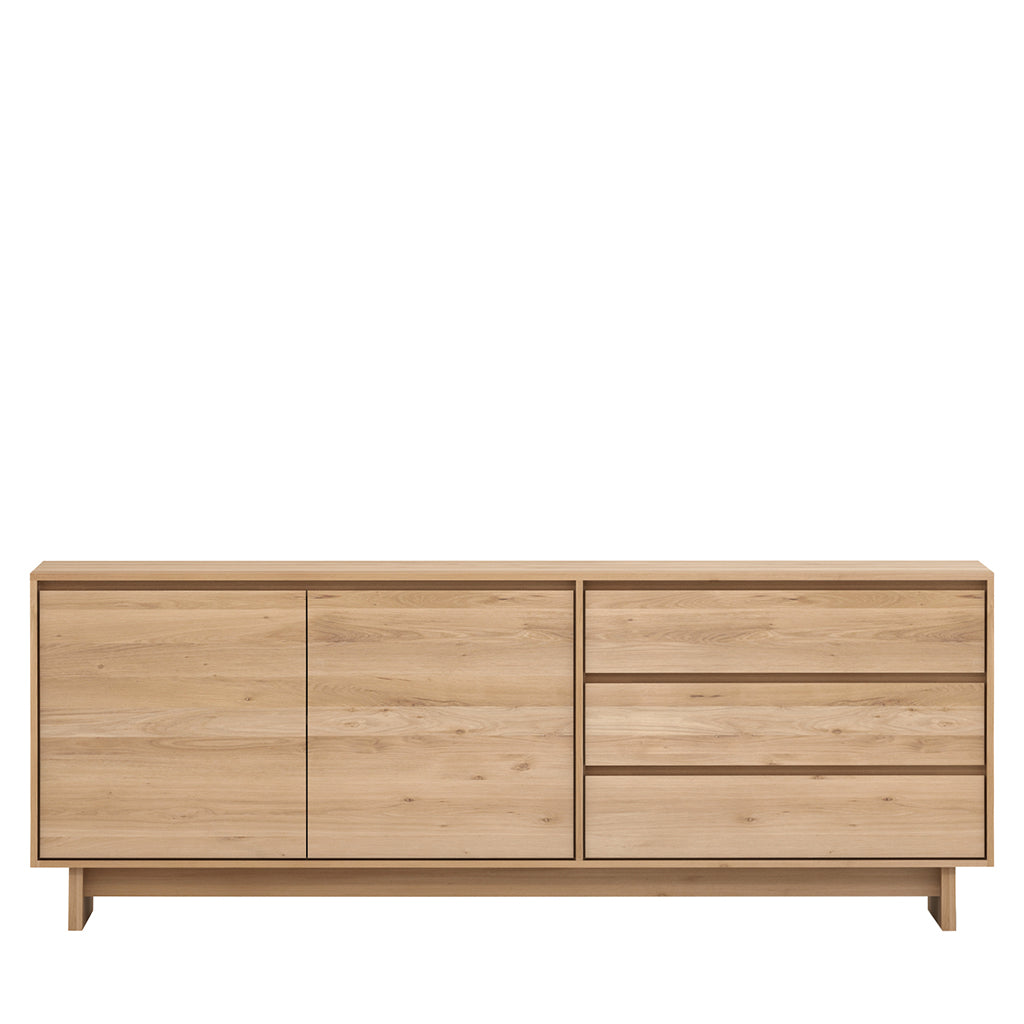 Ethnicraft Wave Oak Sideboard