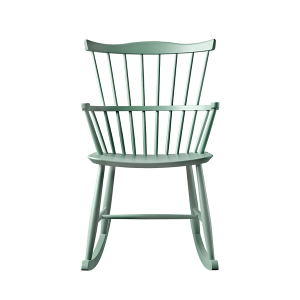 Open Room FDB Møbler J52G Rocking Chair Dusty Green