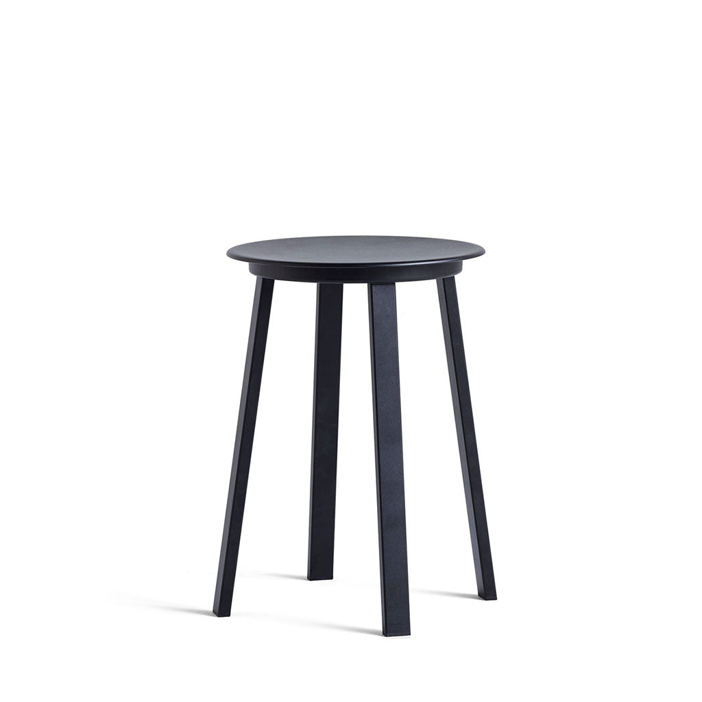 HAY Revolver Bar Stool Low Black Open Room