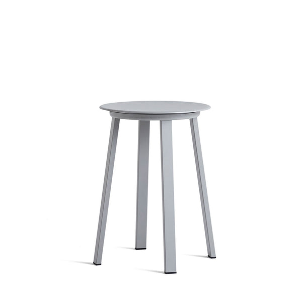vHAY Revolver Bar Stool Low Sky Grey Open Room