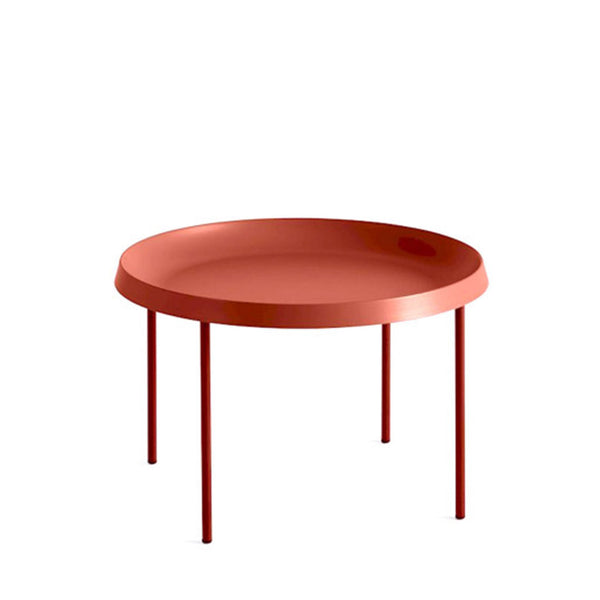 HAY Tulou Coffee Table Orange & Rust - Open Room