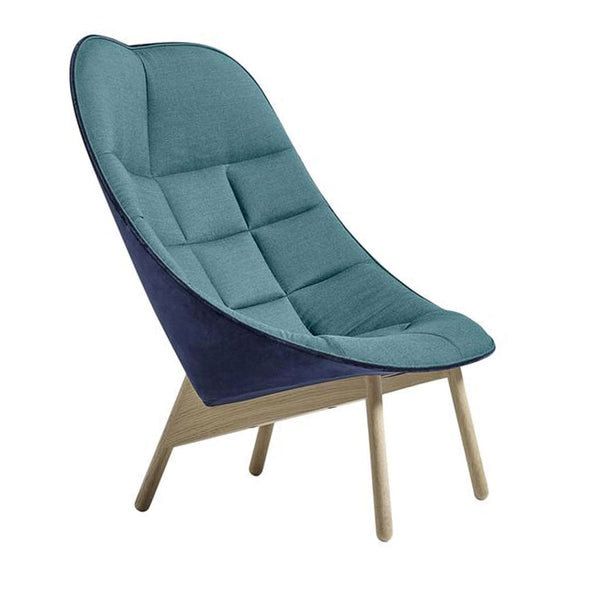 HAY Uchiwa Quilt Lounge Chair Open Room
