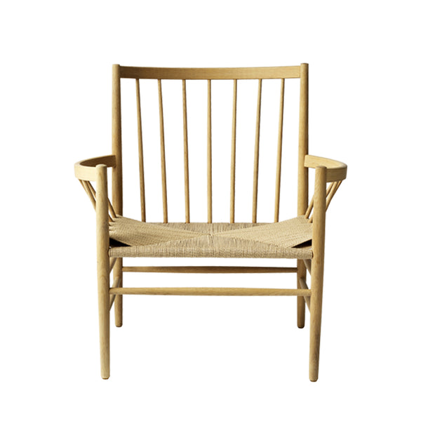 Open Room FDB Møbler J82 Lounge Chair Natural/Natural
