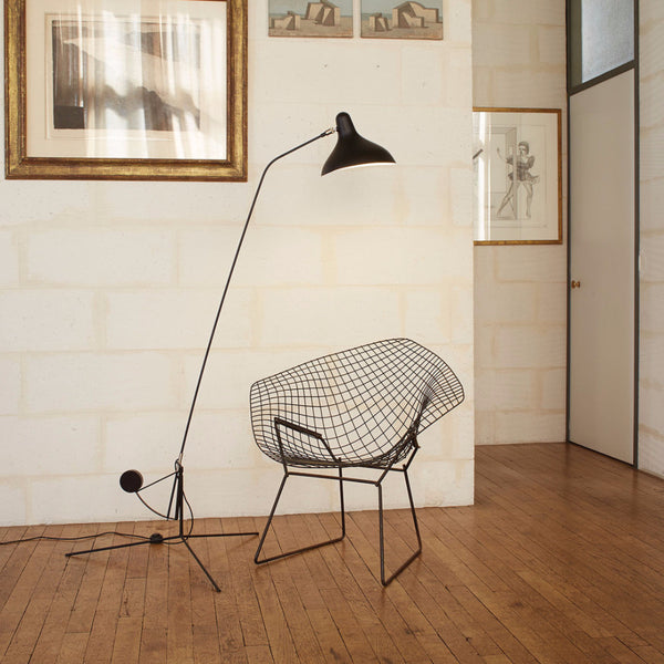 Mantis Floor Lamp by Bernard Schottlander - Open Room