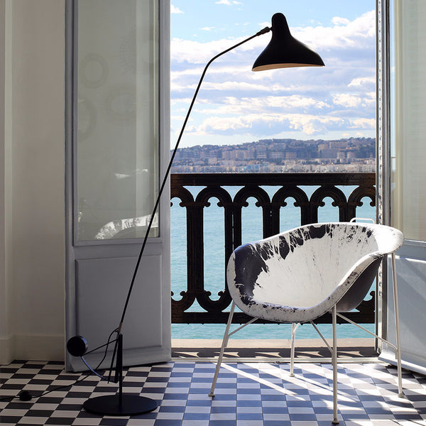 Mantis Floor Lamp Bernard Schottlander Open Room