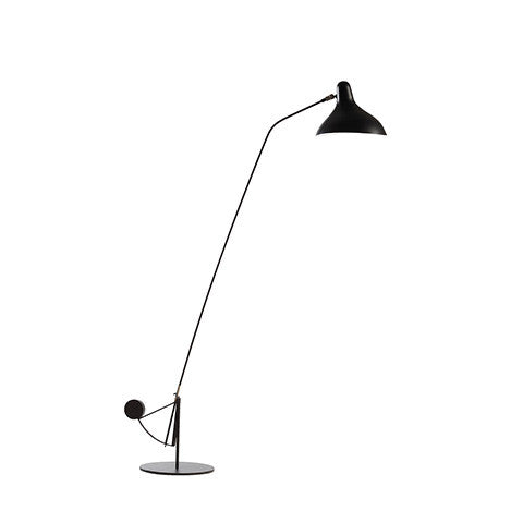 Mantis Floor Lamp BS1 B BL by Bernard Schottlander Open Room