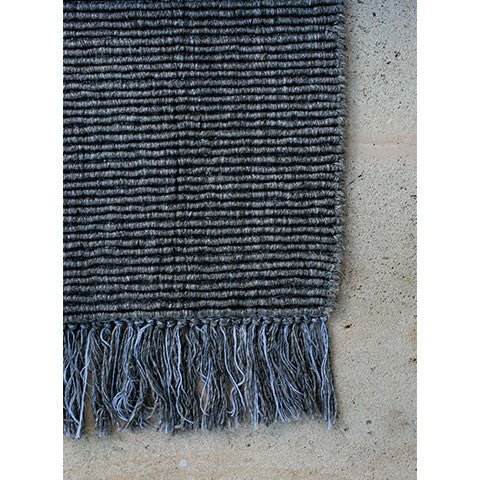 Ribbed Wool Rug by Nodi