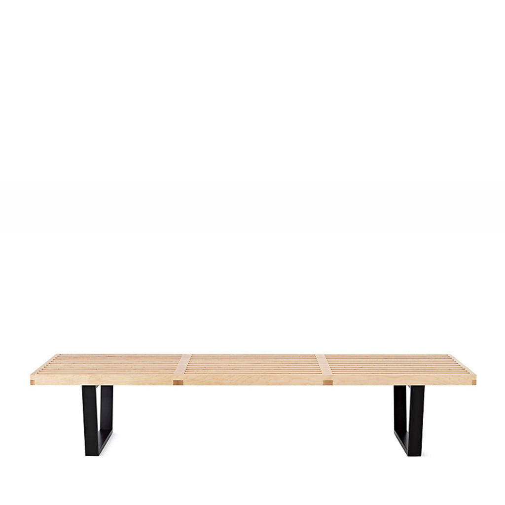 Open Room - Nelson™ Platform Bench with Black Base  - Large