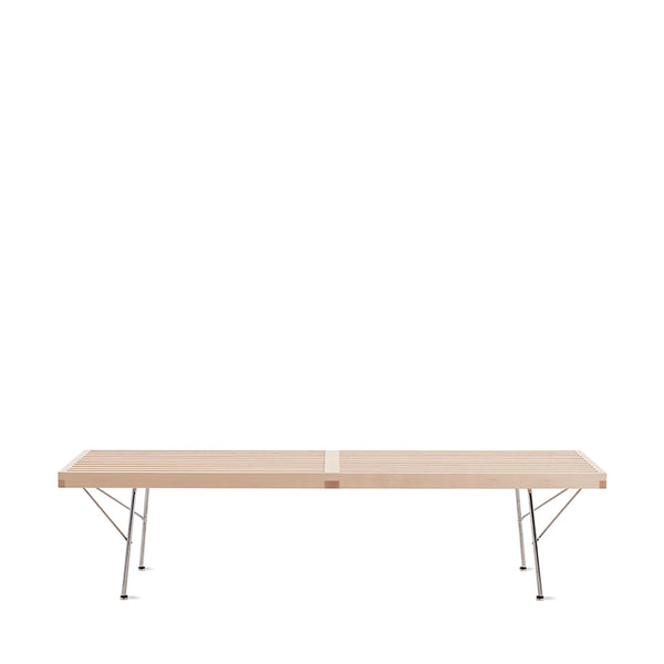 Nelson™ Platform Bench with Chrome Legs - Medium - Open Room