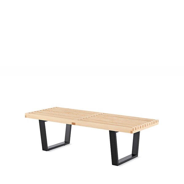 Open Room - Nelson™ Platform Bench with Black Base  - Small