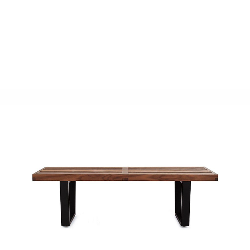 Awe Inspiring Nelson Platform Bench With Black Base Small Gmtry Best Dining Table And Chair Ideas Images Gmtryco