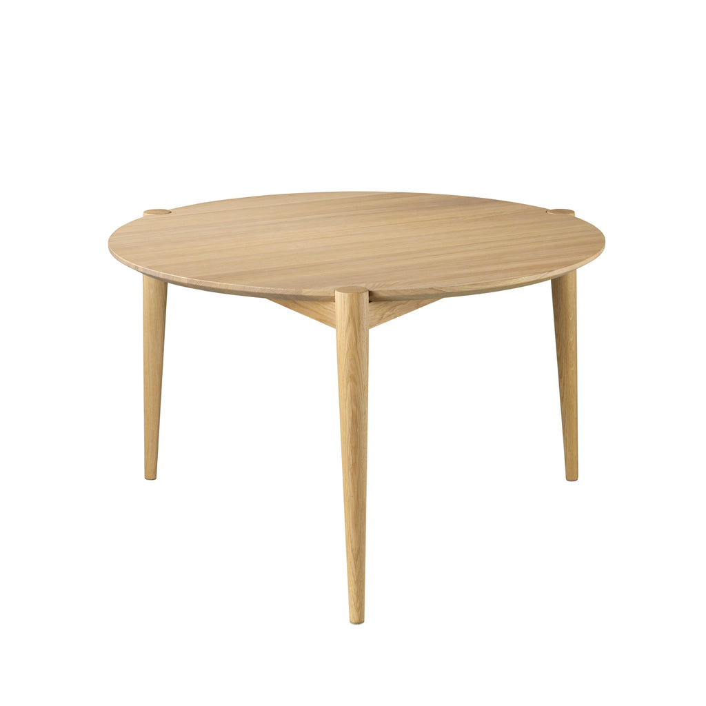 FDB Møbler D102 Coffee Table Ø70 by Stine Weigelt