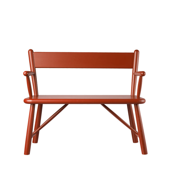 Open Room FDB Møbler P11 Child Bench Red