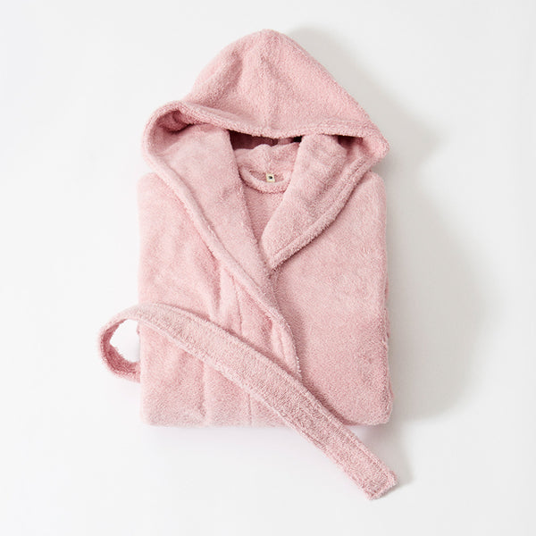 Tekla Terry Hooded Bathrobe
