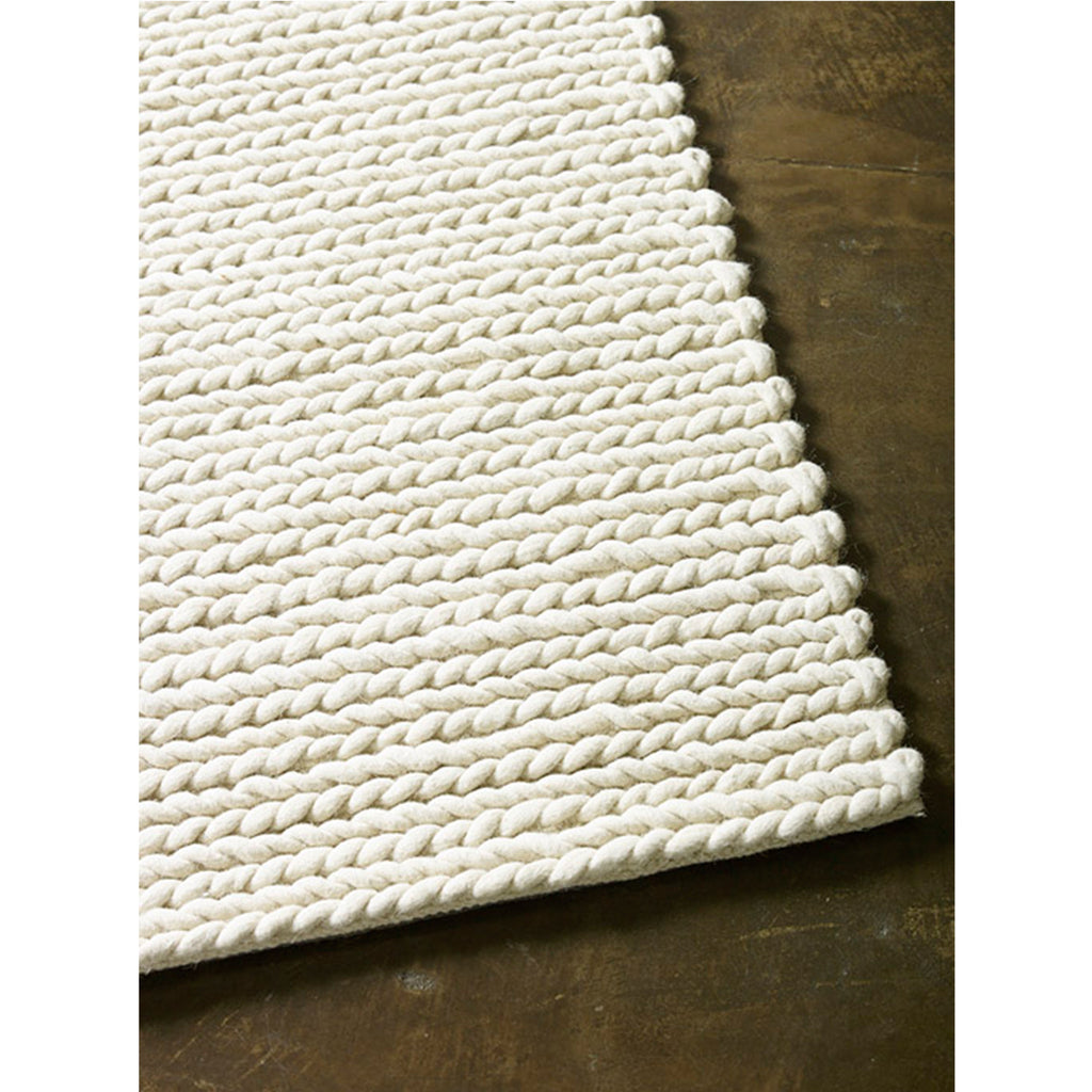 rope weave rug – open room