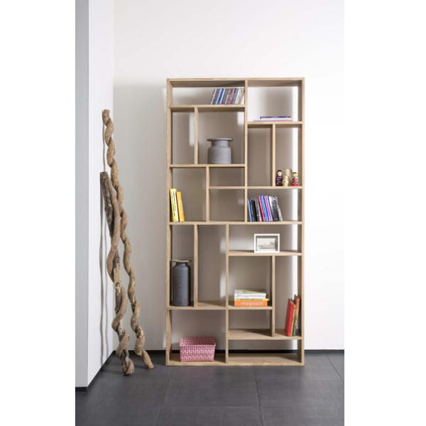 Ethnicraft Bookshelf Solid Oak M Rack