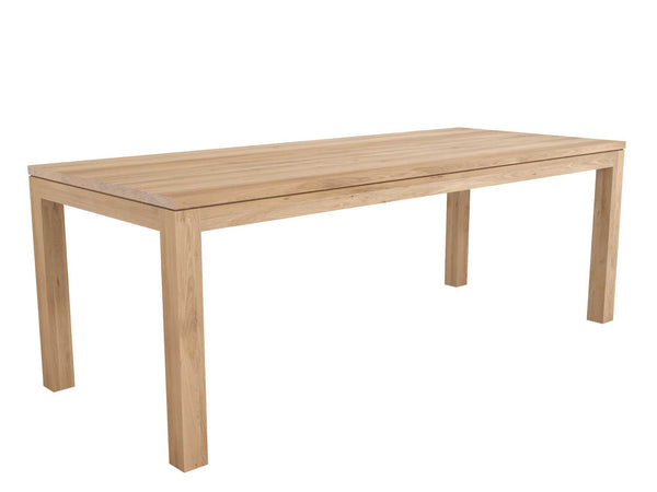 Ethnicraft Straight Oak Dining Table