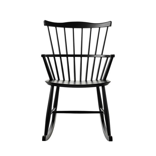 Open Room FDB Møbler J52G Rocking Chair Black
