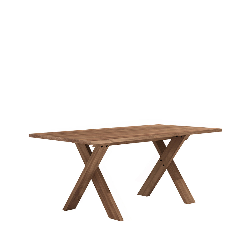Ethnicraft Pettersson Teak Dining Table Open Room
