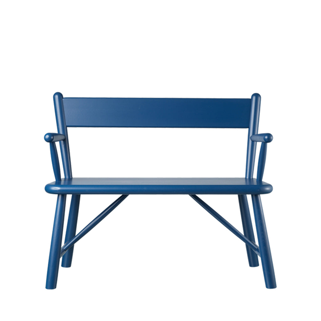 Open Room FDB Møbler P11 Child Bench Blue
