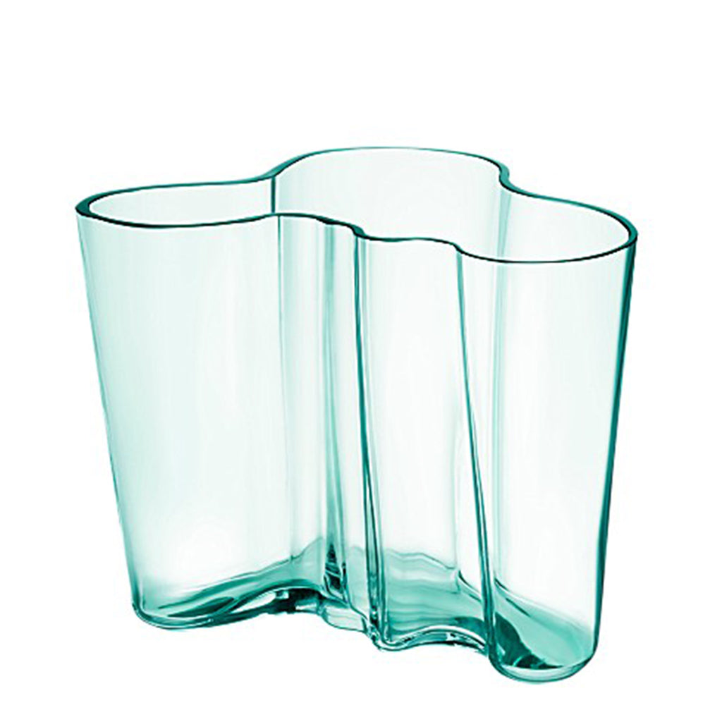 Vase Water Green 160mm by Alvar Aalto